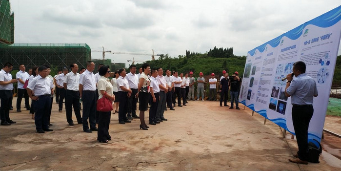 考察高新区中国牙谷科创园区建设