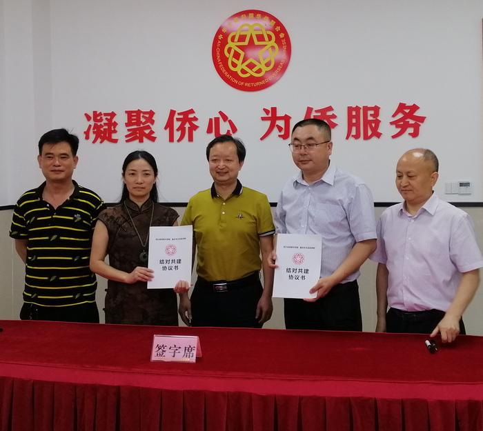 资阳市侨联与重庆市大足区侨联签订战略合作协议